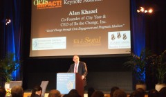 Alan Khazei delivers 'DEIS Impact keynote on social justice and civic engagement