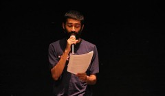 Narayanan '15 gives voice to poetry on campus
