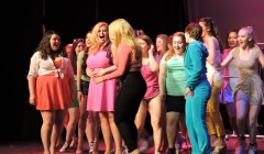 Sarah Brodsky '15 and cast shine in 'Legally Blonde'