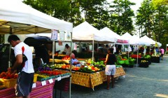 Weather doesn't deter spirit of Farmers' Market