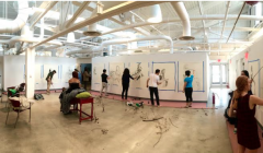 New art studios open in renovated Epstein building