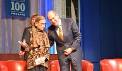 Justice Ginsburg discusses univ.'s namesake