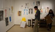 Brandeis students showcase art from home and abroad in new exhibition