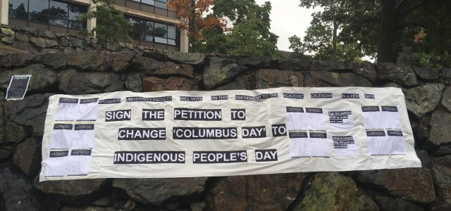 Vote on Indigenous People's Day deferred to faculty