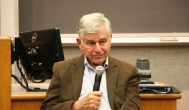Gov. Dukakis speaks on past and present elections