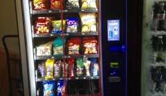 Univ. spent no money on new vending machines