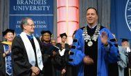 Brandeis inaugurates its ninth president