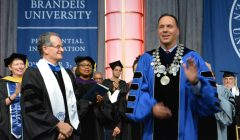 Brandeis inaugurates its ninth president