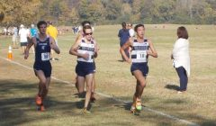 Cross country competes in conference championships