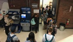 Mailroom backlog generates wait times of over 90 minutes