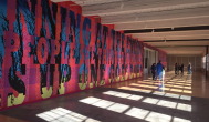 A look at Brandeis Fine Arts professor Joe Wardwell's piece in the MASS MoCA