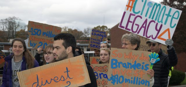 Brandeis climate groups to meet with Board of Trustees