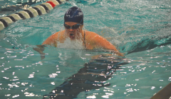 Swimming and diving find success on senior day
