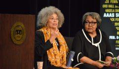 Angela Davis '65 visits Brandeis to celebrate AAAS 50th anniversary